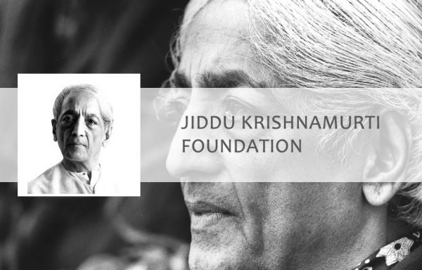 krishnamurti foundation kolkata